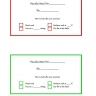 Free printable gift labels