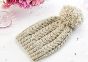 Learn To Knit A Cable Hat