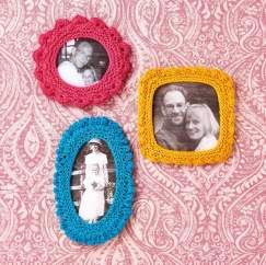 Picture Frames Knitting Pattern
