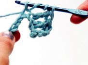 Double treble crochet (dtr)