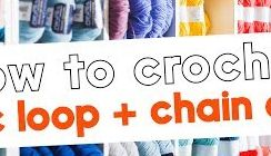 How to Crochet: magic loop and chain circles Knitting Video