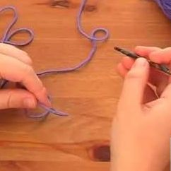How to Crochet: holding your yarn and hook Knitting Video
