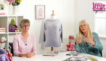 How to: work Fair Isle with one hand, two strands Knitting Video