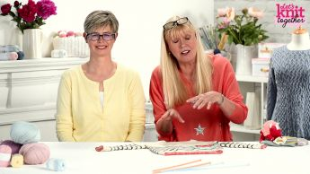 How to: decrease knit stitches (ssk) Knitting Video