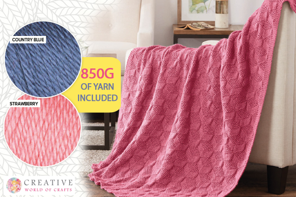 FREE* Knitted Blanket Bundle